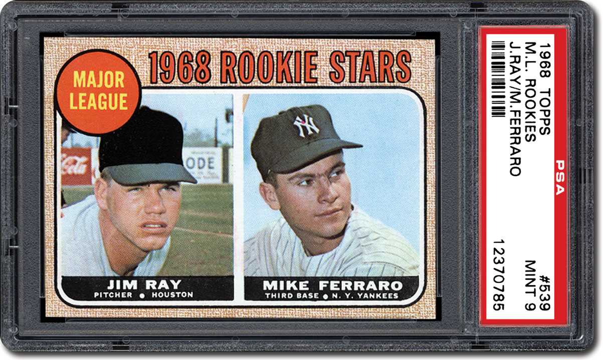 The 50th Anniversary Of The 1968 Topps Baseball Card Set A
