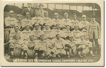 1915 Boston Red Sox