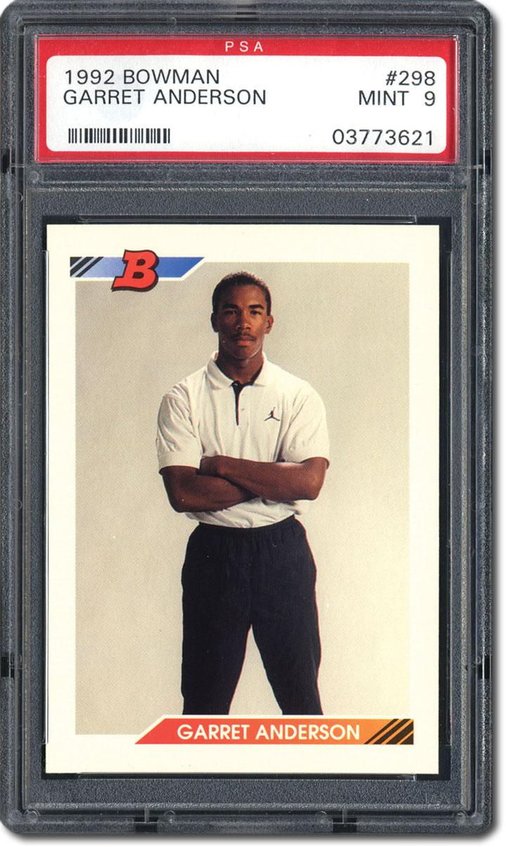 Psa Set Registry The 1992 Bowman Baseball Set A Card Boom Survior