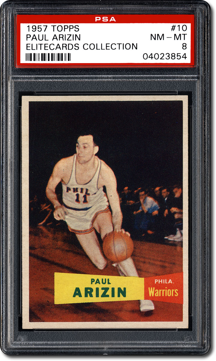 PSA Set Registry Basketball Hall of Fame Rookie Cards the