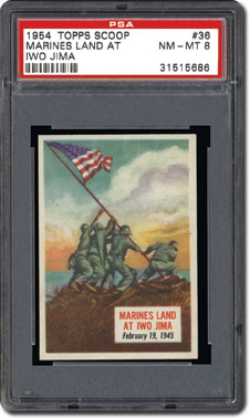 Marines land at Iwo Jima
