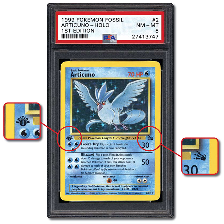 Psa Set Registry Collecting The 1999 Pokmon Fossil 1st Edition