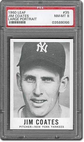 1960 Leaf Baseball Cards Plain Vanilla