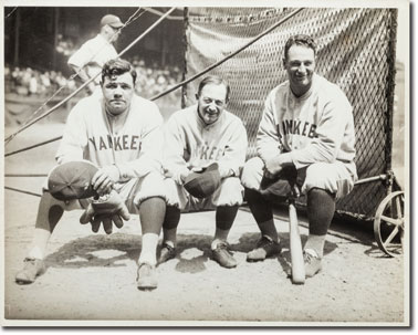 Ruth, Huggins, Gehrig