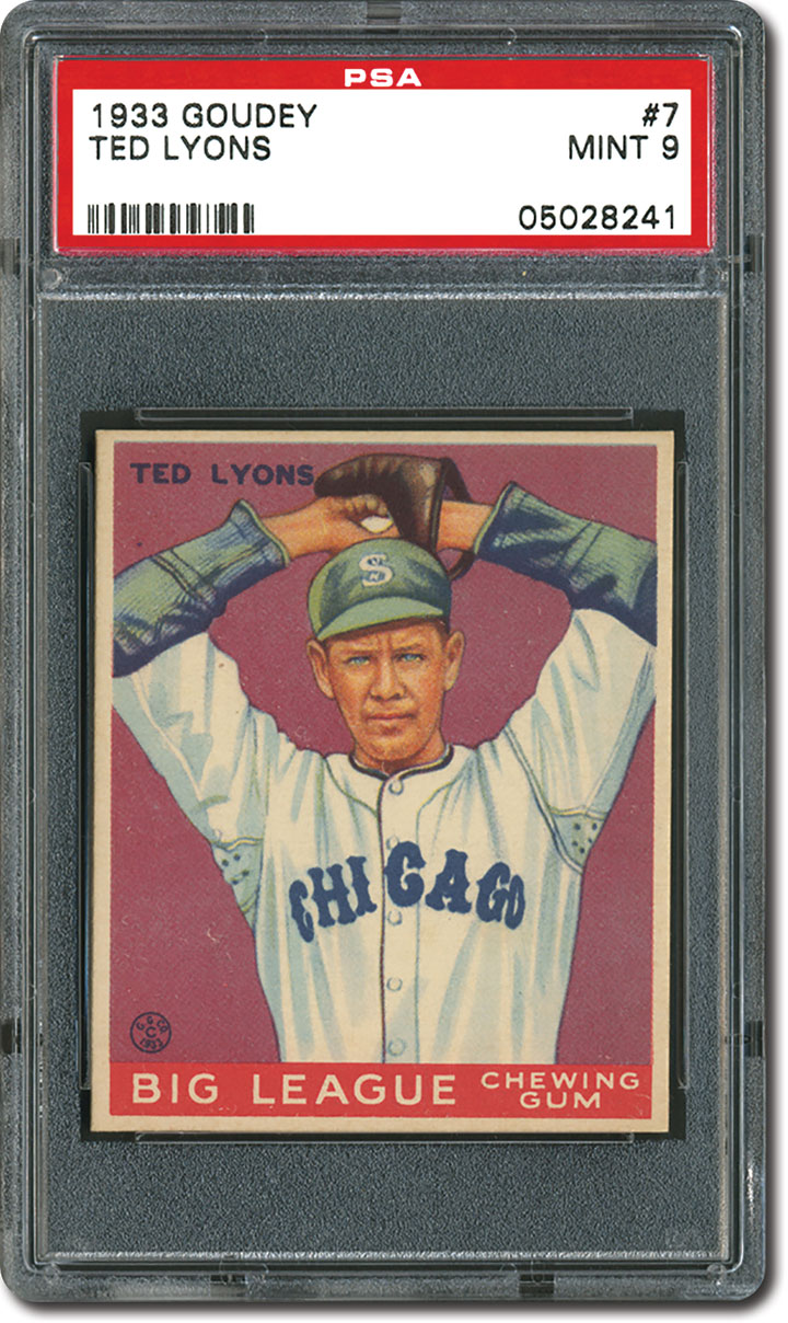 Psa Set Registry Collecting The 1933 Goudey Baseball Card