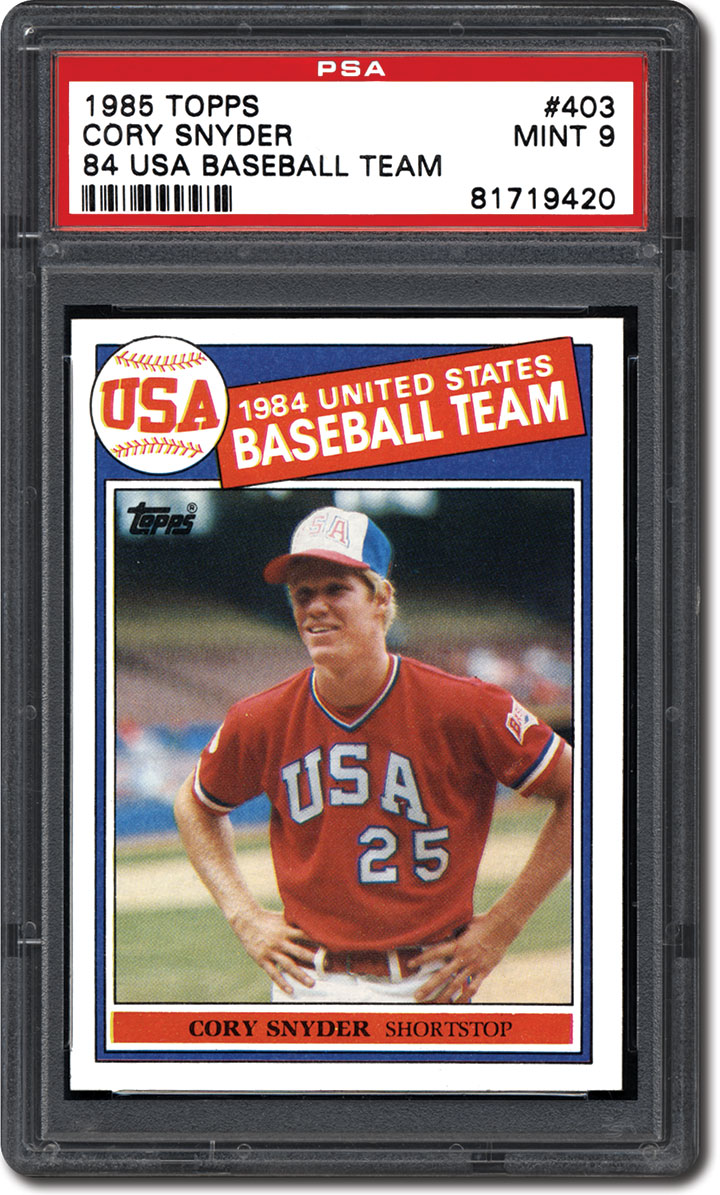Collecting The 1985 Topps Baseball Card Set Can It