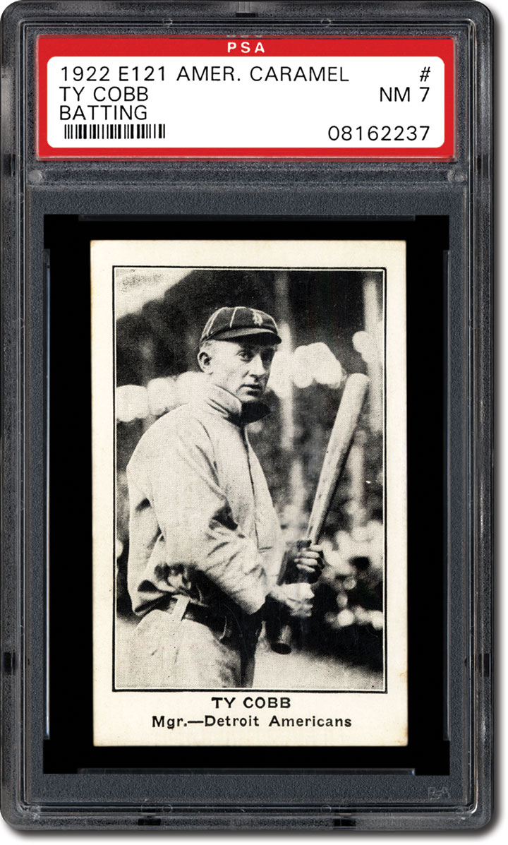 Ty Cobb: Collecting Baseball Cards and Autographs of The