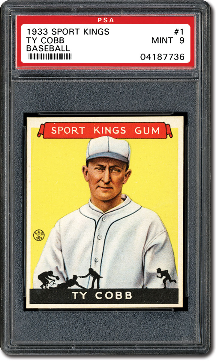 Ty Cobb Collecting Baseball Cards And Autographs Of The Georgia Peach