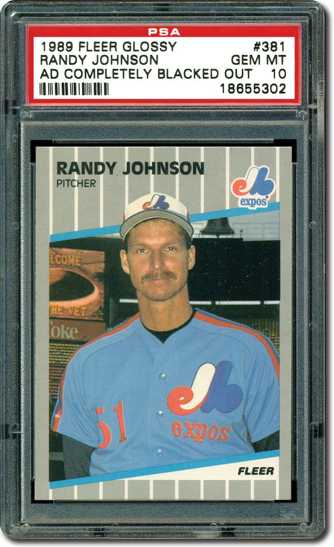 Collecting Randy Johnson Baseball Cards A Look At The 2015