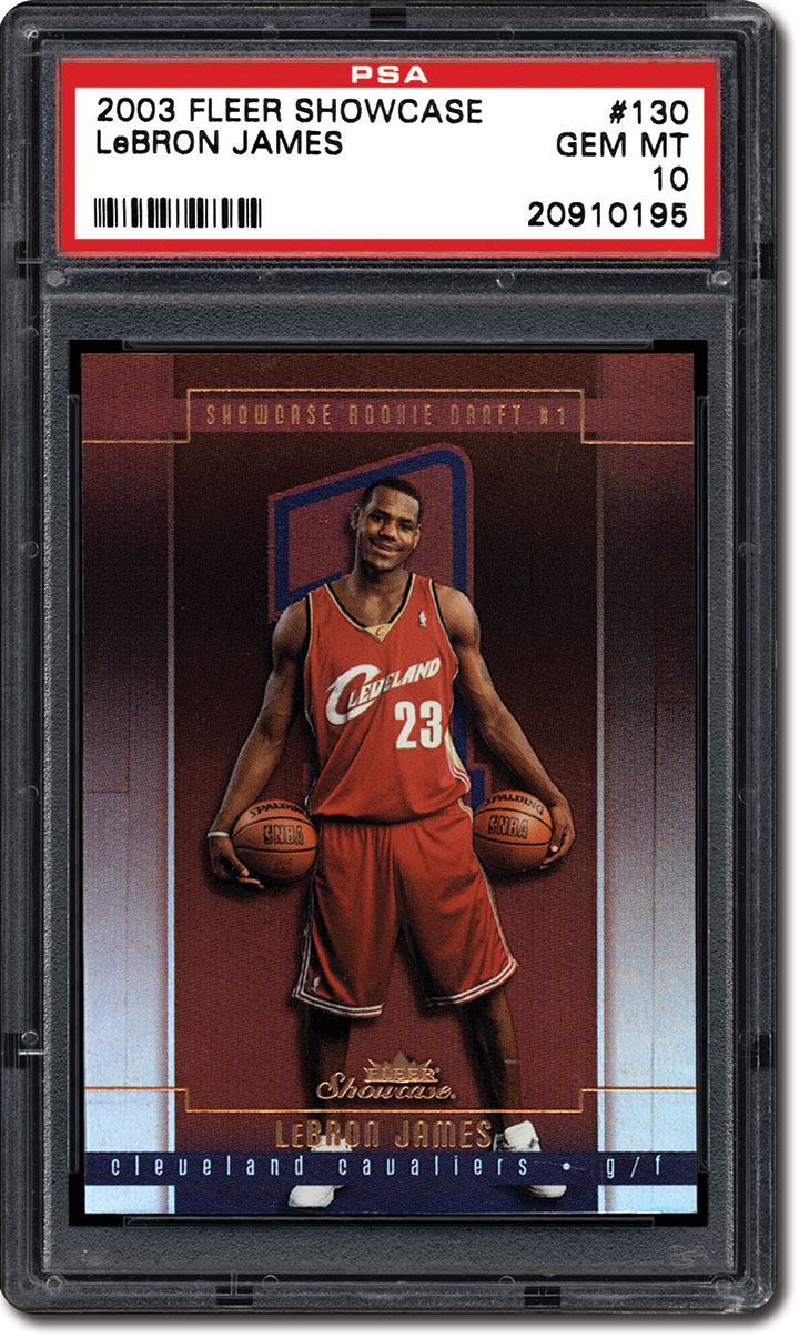 PSA Set Registry: Collecting LeBron James - Is He King of the ...
