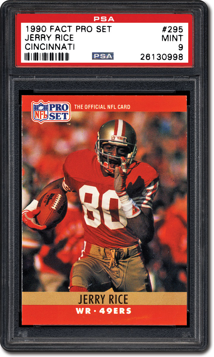 Psa Set Registry Jerry Rice Collecting Cards Of The Nfls