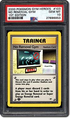 No Removal Gym