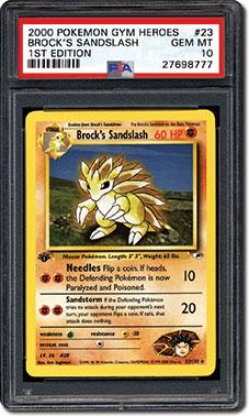 Brock's Sandslash