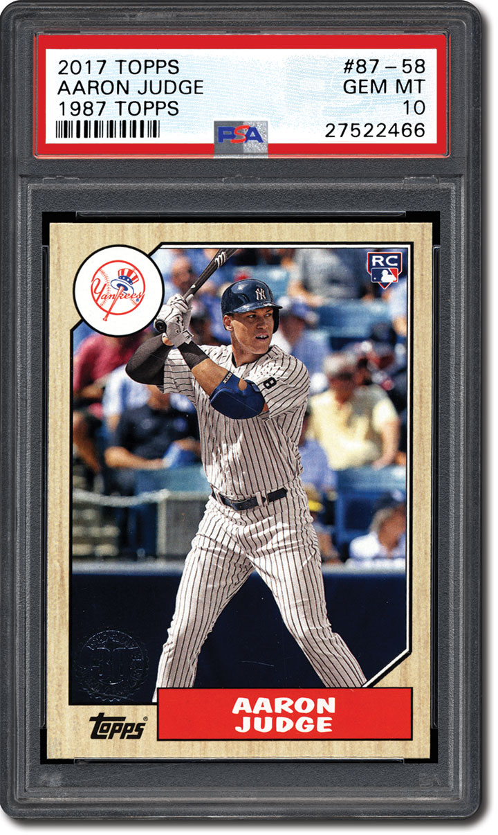 Aaron Judge Collectors Rise For The Young Yankees Superstar