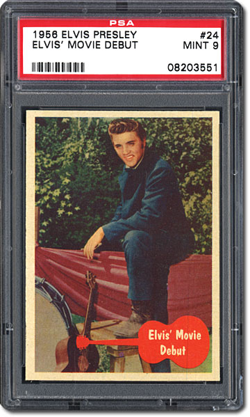 Collecting 1956 Topps Elvis Presley Cards An Interview With John