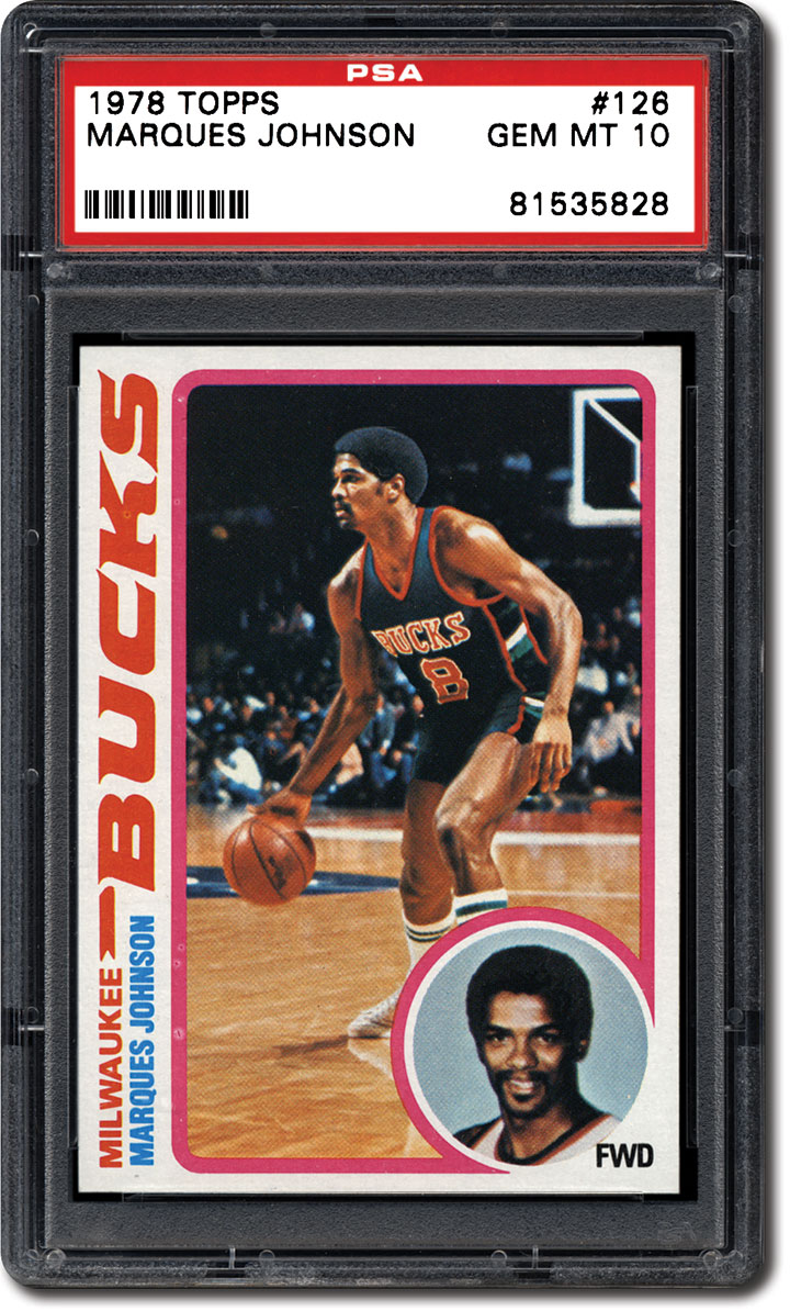 PSA Set Registry Collecting the 1978 Topps Basketball Card Set A
