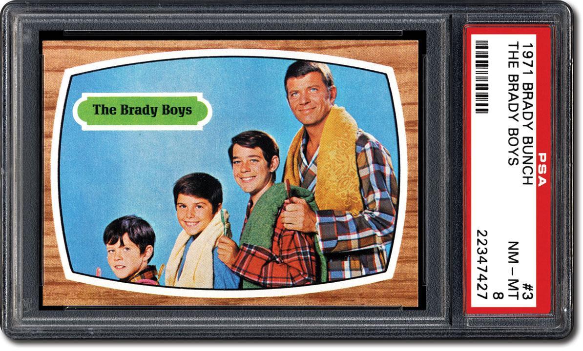 Brady Bunch Christmas Card.Psa Set Registry Collecting 1971 Topps Brady Bunch Cards