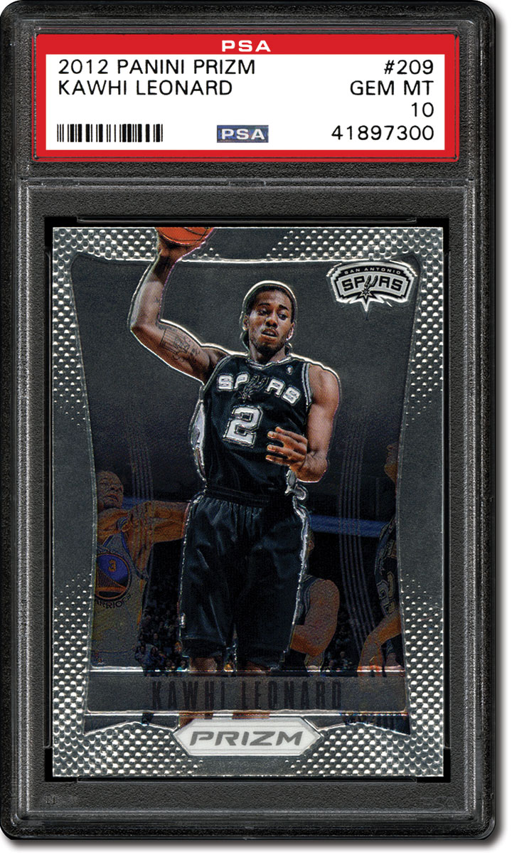 adbd395a4 His Panini Prizm rookie ( 209) showcases him dunking with the Spurs. There  are multiple rare and valuable parallels of this card.