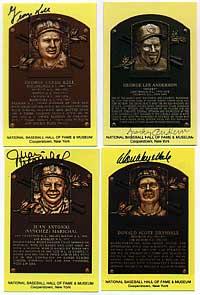 Gold HOF Plaques